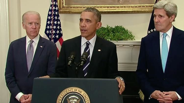During a Friday morning press conference, President Barack Obama announced that his administration is rejecting the Keystone XL Pipeline.